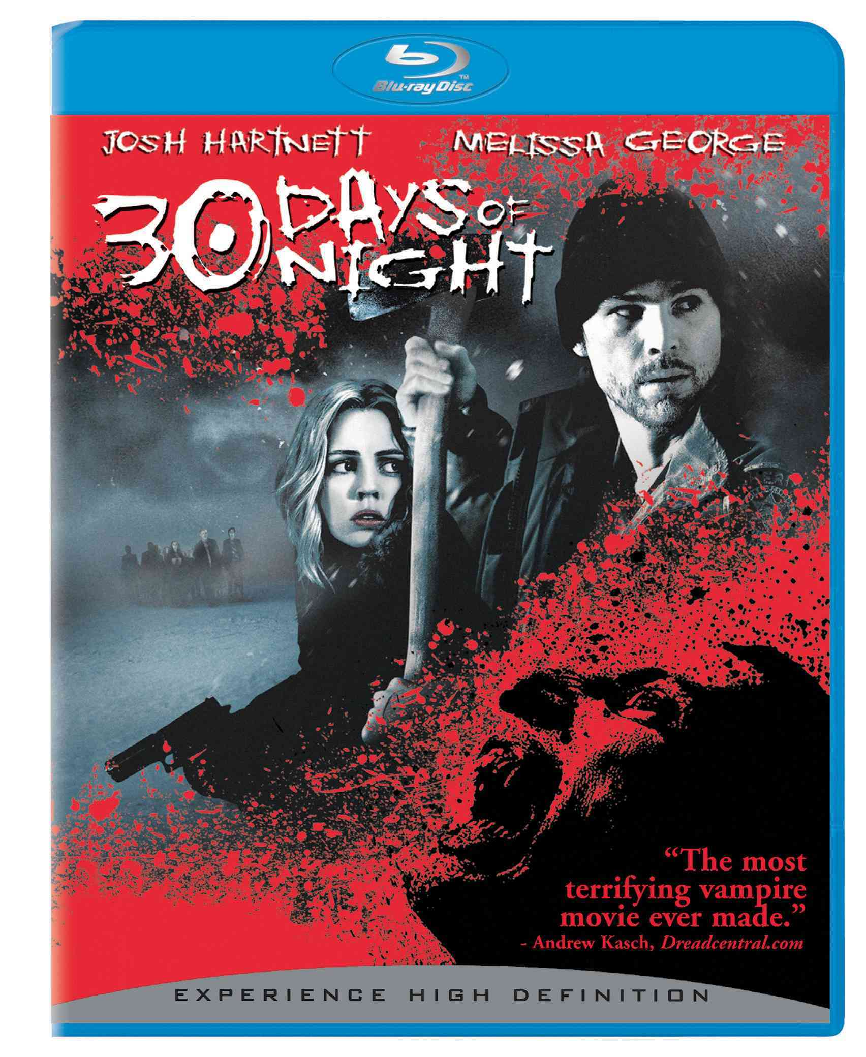 30 DAYS OF NIGHT BY HARTNETT,JOSH (Blu-Ray)